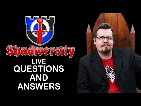 Shadiversity LIVE questions and answers