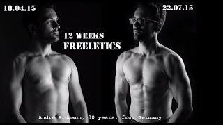 15 WEEKS BODY TRANSFORMATION | FREELETICS