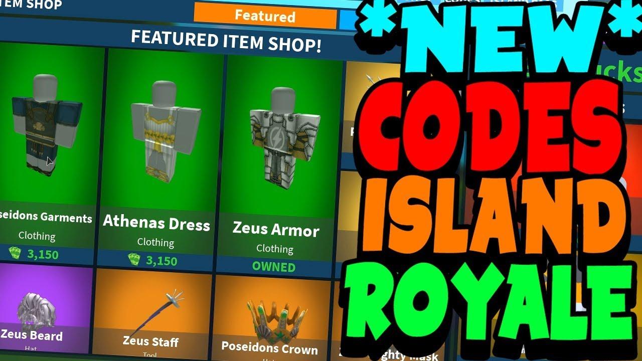 New Codes On Island Royale Free Bucks Youtube