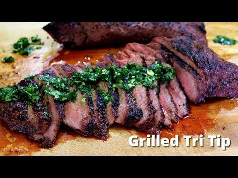 Grilled Tri Tip On Big Green Egg | Grilling Tri Tip Recipe Malcom Reed HowToBBQRight