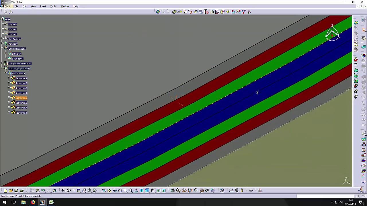 Catia v5 composite design basics manuel ply method youtube.
