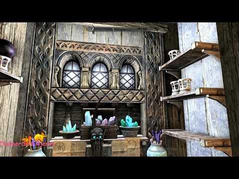Dunmerized Hjerim - Skyrim Special Edition House Mod