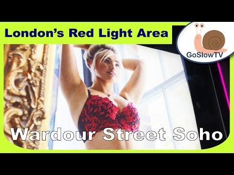 Soho London Red Light Area | Wardour Street | Walking London | UK | Slow TV | (2018) | Episode 6
