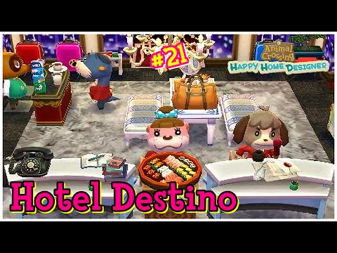 Animal Crossing Happy Home Designer 21 Empezamos El Hotel Youtube