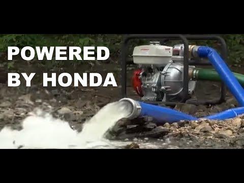 NorthStar High-Pressure Water Pump - 2in. Ports, 8120 GPH, 94 PSI, 160cc Honda GX160 Engine ...