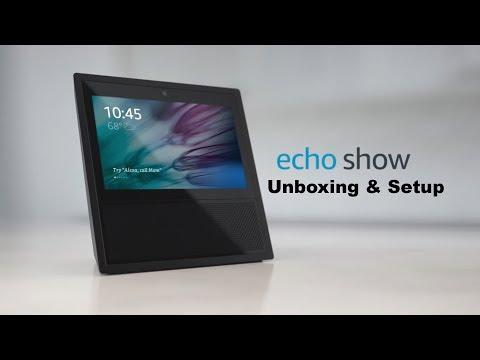 Amazon Echo Show Unboxing and Setup