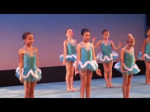 Children Rhythmic Gymnastics Show