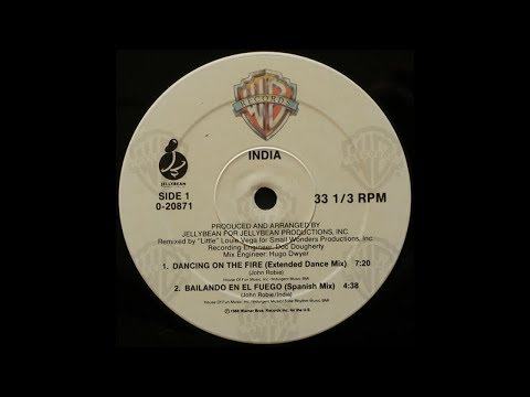 India - Dancing On The Fire ( Extended Dance Mix)