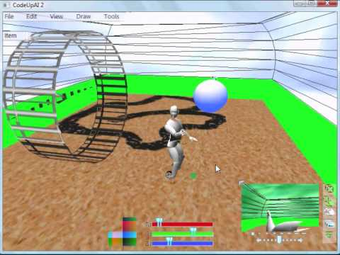 Robot - Harvest The Power of Evolution - NEAT algorithm + Nvidia PhysX