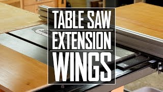28 - Table Saw Extension Wings