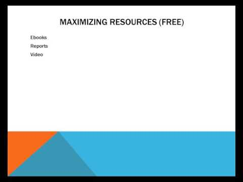 Maximizing Information Resources For Profit - Video 10 - What To Deliver