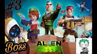 Alien creeps td #3 Boss!!