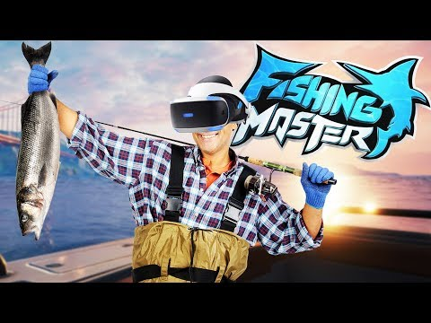 Catching MONSTER BASS in VIRTUAL REALITY! - Fishing Master VR Gameplay - PSVR