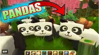 É VERDADE !! PANDAS NO MINI WORLD BLOCK ART( MINI NOTICIAS )