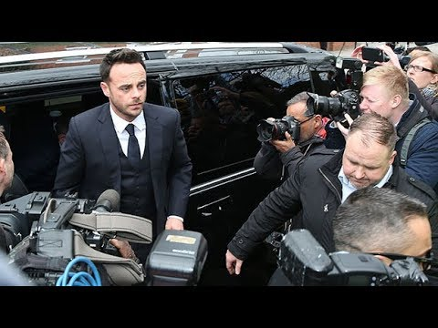 Ant McPartlin 'very sorry' after pleading guilty to drink-driving