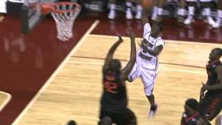 Reggie Jackson Dunk - Boston College vs. Miami