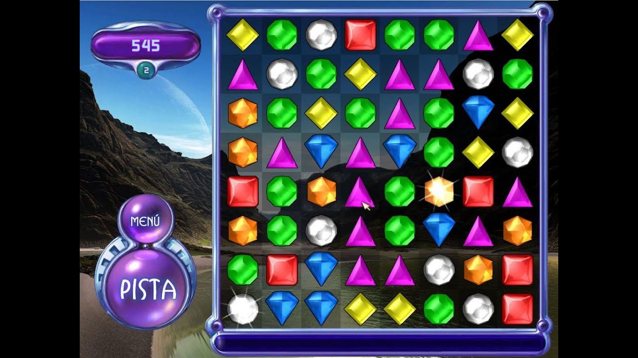 Gameplay 1 Bejeweled Deluxe 2 Youtube