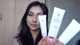 Forever Living product review Aloe Gel Aloe Apiblanc Makeup With Raji