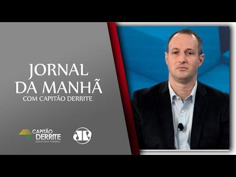Entrevista para o Jornal da Manhã, na Jovem Pan