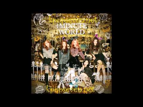 [MP3/DL] 4Minute (포미닛) - 오늘 뭐해 (Whatcha Doin' Today) [5th Mini Album 4Minute World]