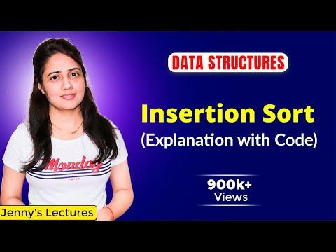 Insertion Sort Algorithm | Data Structure