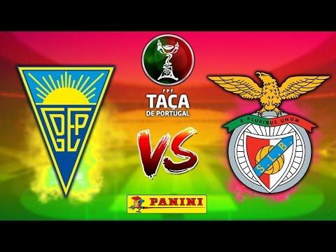 ⚽ ESTORIL vs BENFICA   28.2.17   Taça de Portugal FUTEBOL 2016/17