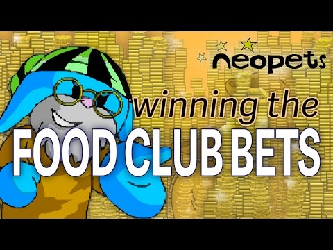 Easy NP: Neopets Food Club Bets