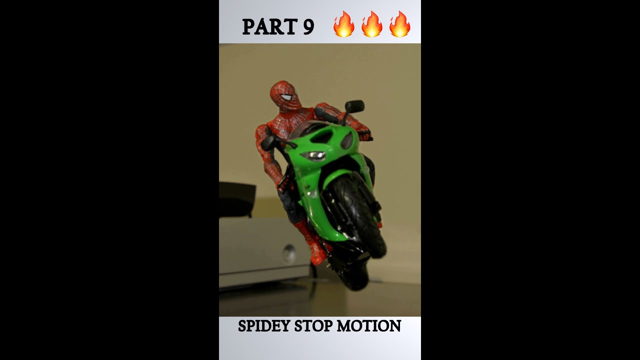 PART 9 CLASSIC SPIDEY Stop Motion #Shorts