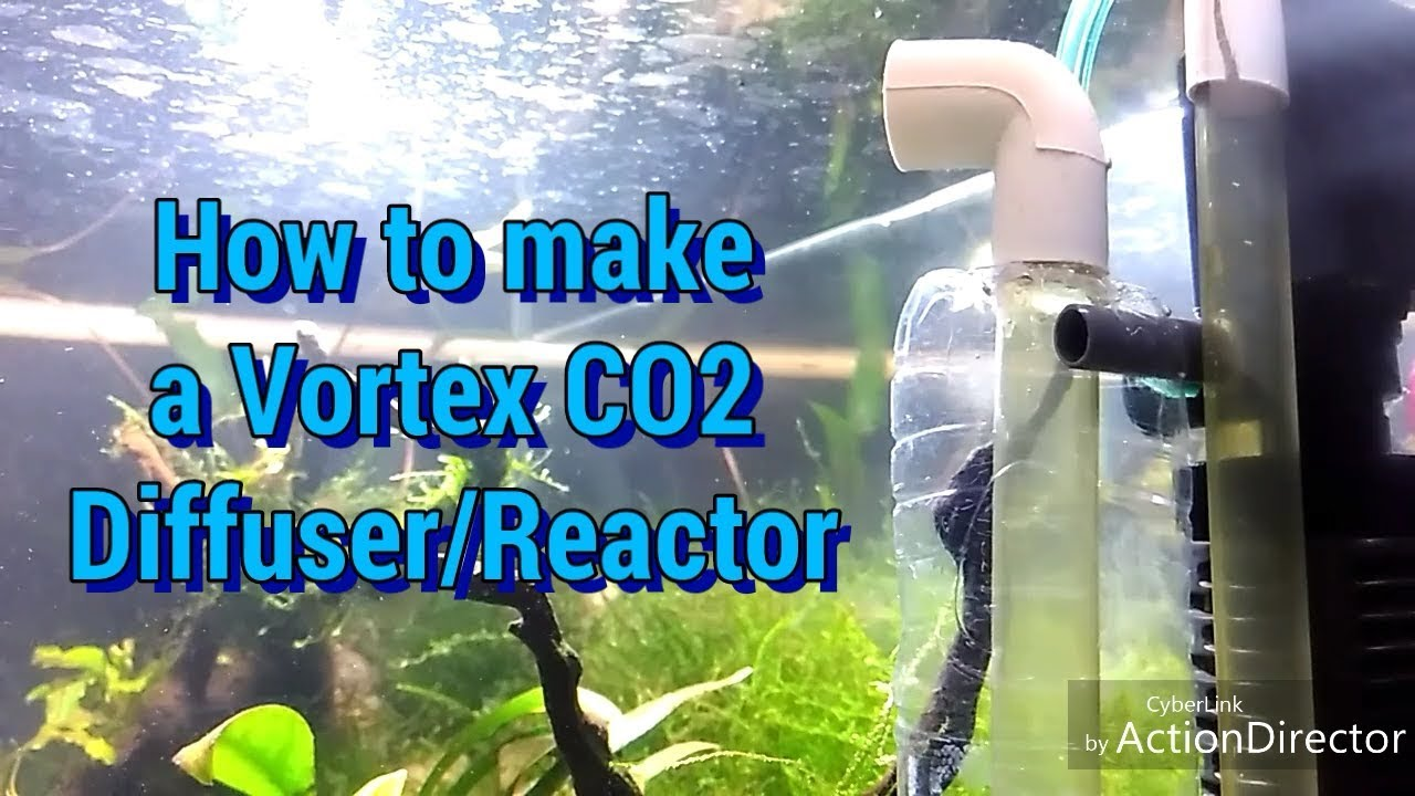 How to make a Vortex CO2 Diffuser/Reactor | Type 3 - vetchin