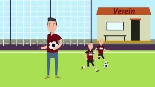"""Erklärvideo: """"Wie trete ich einem Fußballverein bei?"""""""