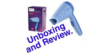 NO.1 NEW MODEL PHILIPS HAIR DRYER/HP 8142/ UNBOXING & REVIEW..