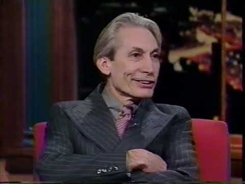 Charlie Watts Interview on LATER with Bob Costas