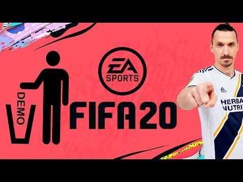FIFA 20 DEMO   ДЕМО В КВАДРАТЕ.