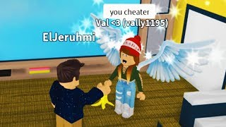 CAUGHT CHEATING IN ROBLOX BOYS AND GIRLS HANGOUT