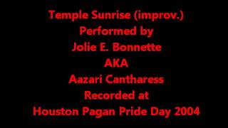 Temple Sunrise- Flute Improvisation