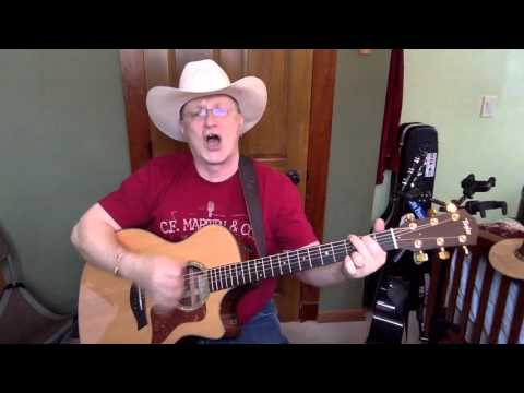 166b -  Forever And Ever Amen -  Randy Travis vocal & acoustic guitar cover & chords