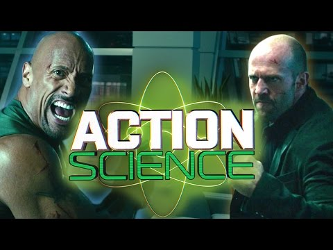 """ACTION SCIENCE: Hobbs (The Rock) vs. Shaw (Jason Statham) in """"Furious 7"""""""