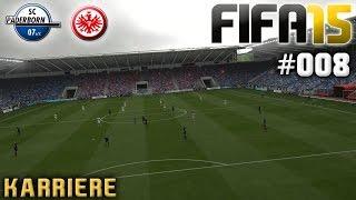 FIFA 15 KARRIERE #008: SC Paderborn vs. Eintracht Frankfurt «» Let