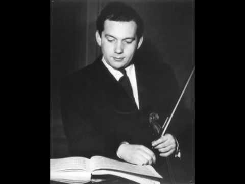 Arthur Grumiaux - Bach Partita No.1 in B minor, BWV 1002 (VII. Tempo di Bourrée)