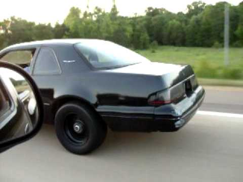 88 Turbo Tbird 5speed VS Full bolton lightning from a Roll!