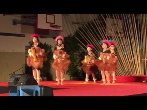 Chloe Limputra performing Yamko Rambe Yamko dance
