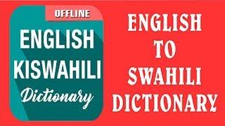 ENGLISH TO SWAHILI SENTENCES EPISODE 1 screenshot 3