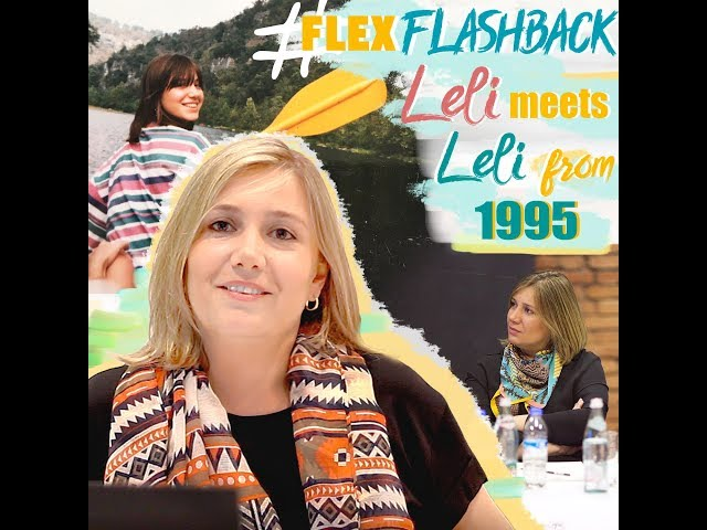 #FLEXFlashback: Leli of 2018 meets Leli from 1995!