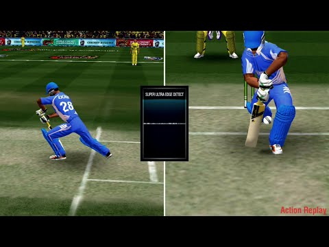 World Cricket Championship 2 wcc 2 graphics DRS system amazing game