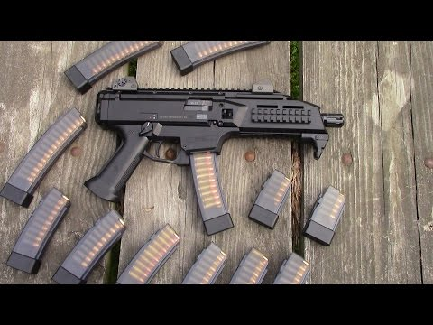 CZ Scorpion EVO 3 S1 9mm Pistol Review / PrepperKip