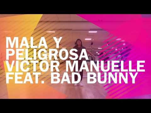 Mala y Peligrosa| Victor Manuelle feat. Bad Bunny| Zumba| by Antoinette.Fitness