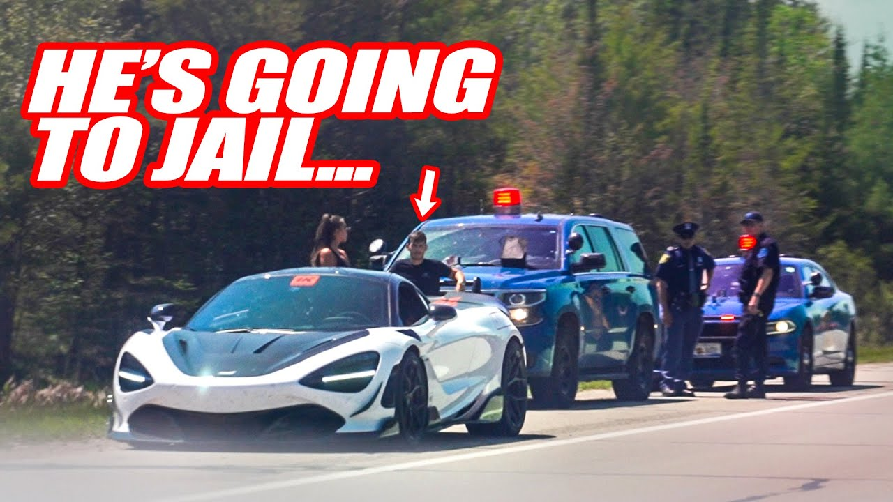RESCUING Our Friend From Getting ARRESTED & Taken To JAIL... *1000HP MCLAREN 720S*