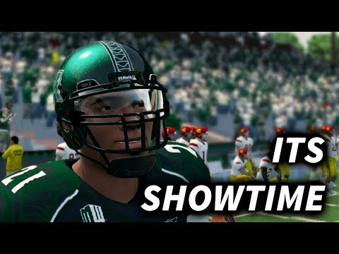 FIRST COLLEGE GAME TIME TO PUT ON A SHOW! NCAA FOOTBALL 14 ROAD TO GLORY