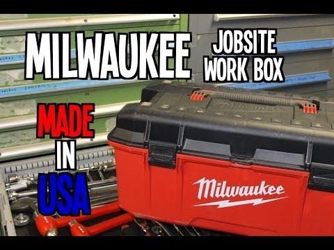 "Milwaukee 26"" Jobsite Work Box – MADE IN USA"
