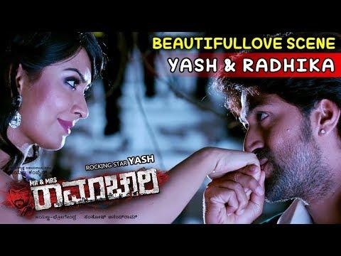 Yash Movies | Radhika And Yash In Gao Super Scenes | Mr And Mrs Ramachari Kannada Movie